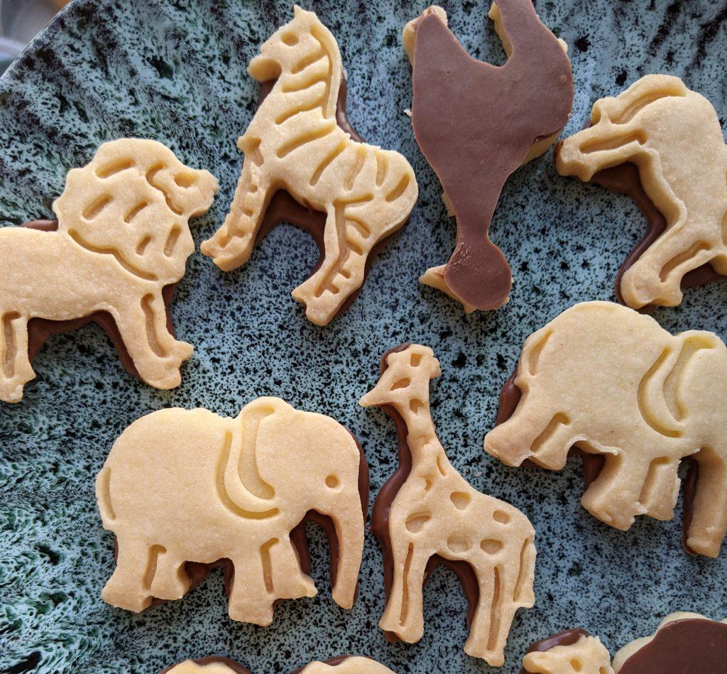 gluten free chocolate animal biscuits recipe